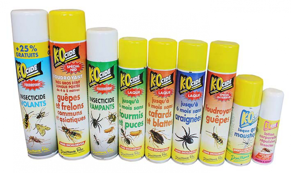 Traitements insecticides